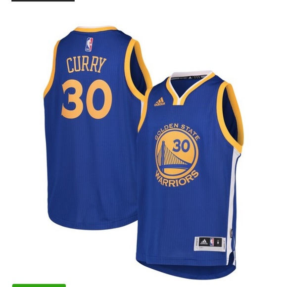 competitive price 10c06 5cd5a Kids Steph Curry #30 Jersey